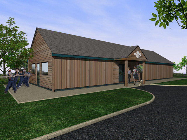 Rugby Scout Hut - Architectural Portfolio - SPG Design, Coventry